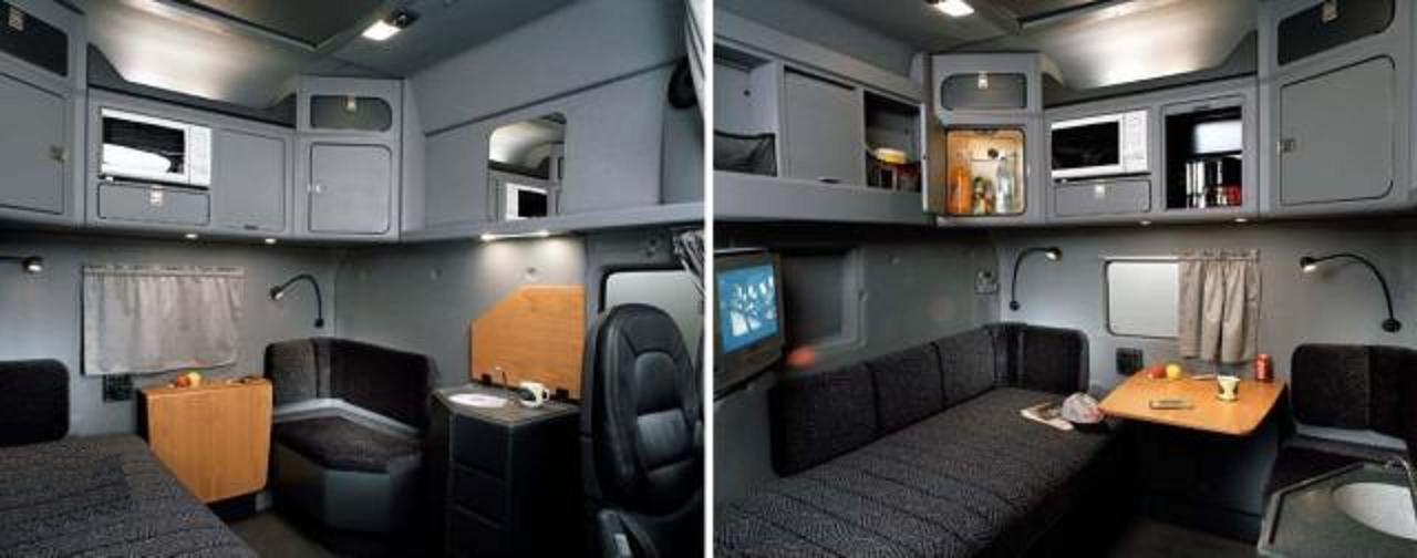 sleeper trucks with bathrooms bolt on tractor trailer sleeper cab bolt custom trucks the. Black Bedroom Furniture Sets. Home Design Ideas